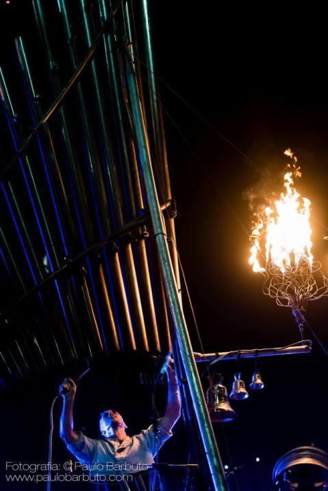 Lucas on fire