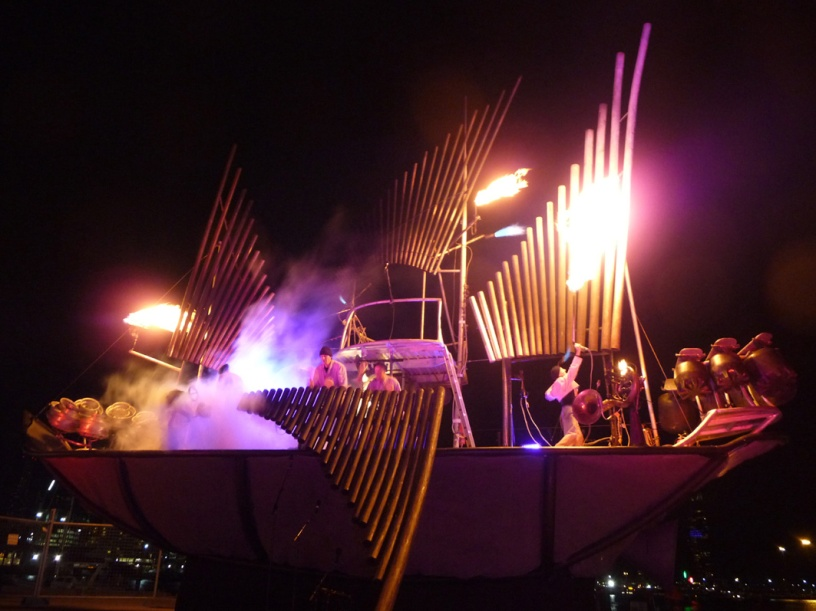 The Fire Organ in action