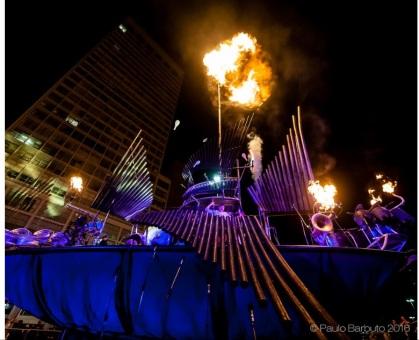 Pyrophone Juggernaut Whumpa in Sao Paulo