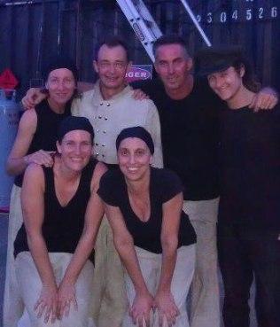 Emma. Steve, Lucas, Jake, Zaia and Fatima